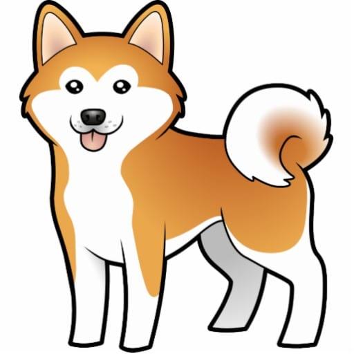 Speciale akita cane di moda parte seconda l for Cane disegno facile